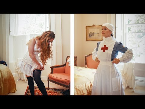 Getting Dressed In WW1 - VAD Nurse
