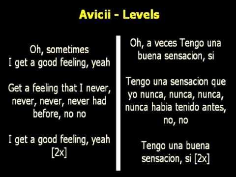 Avicii - Levels (Letra Ingles - Español) - YouTube