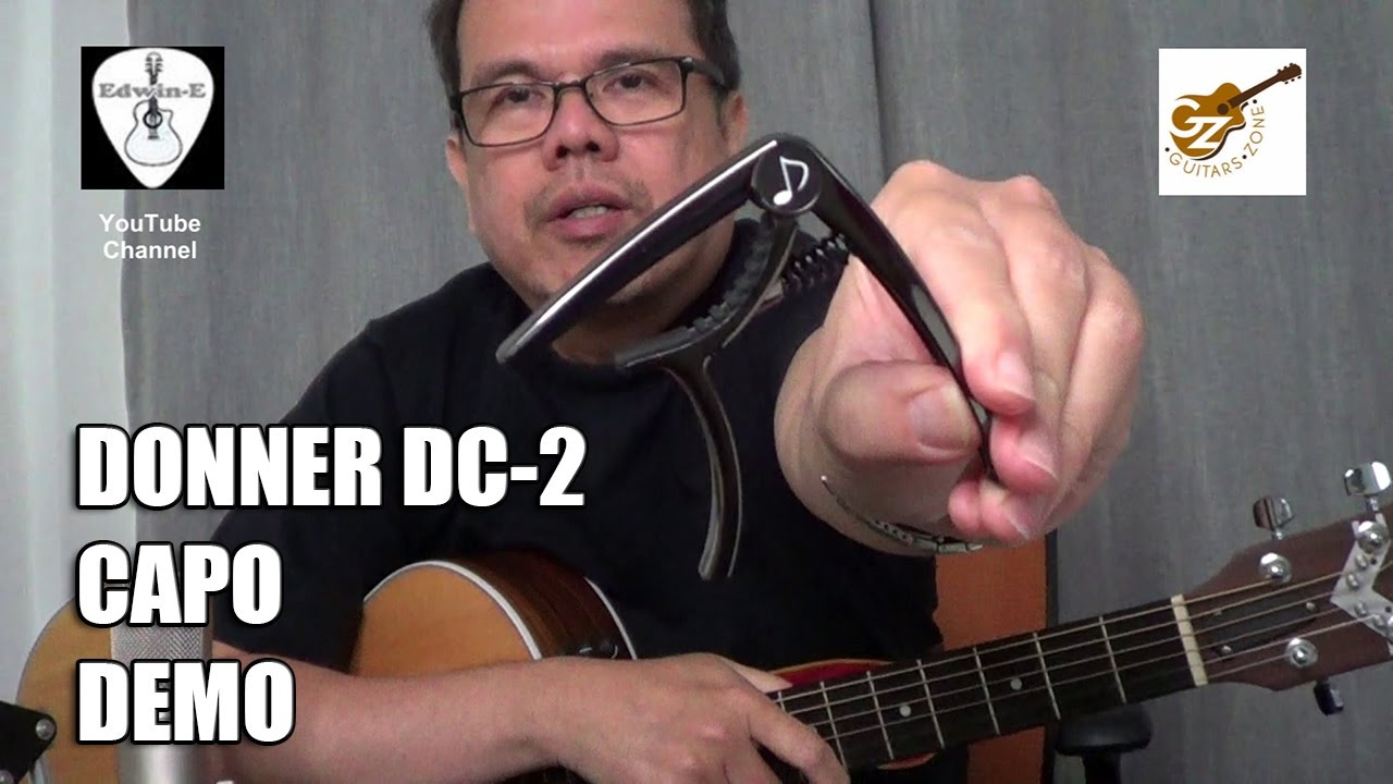 Donner DC2 Guitar Capo Demo Review  YouTube