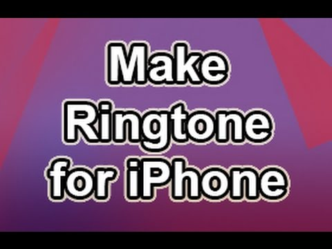 How to Create an iPhone Ringtone Without AAC