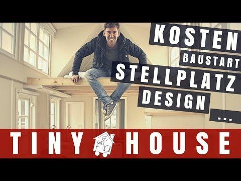 ➤ Es geht los! ツ Tiny House Update | KOSTEN | Baubeginn | STELLPLATZ | Design | Max GREEN