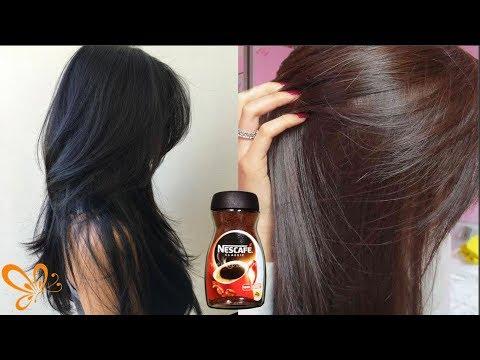 How to get long black natural hair dye at home in urdu