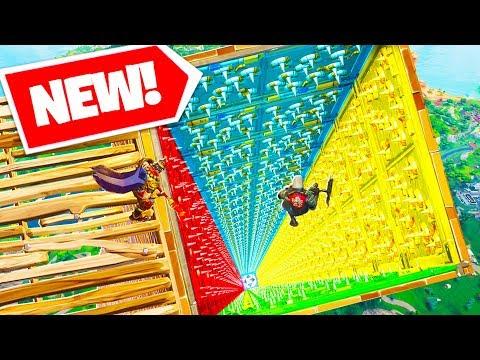 *NEW* TRAP TUNNEL DROPPER Custom Gamemode In Fortnite Battle Royale! | Fortnite W/ Lachlan