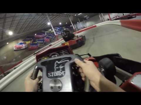 Indoor Electric GoKarts - Tampa Bay Grand Prix - Race 2