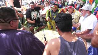 Scout Society (Contest Song #1) @ Northern Ute 4th of July (Fort Duchesne) Powwow 2019 Resimi