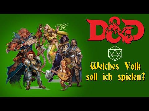 Was Gibt Es Für Völker Bei Dungeons And Dragons? | Tutorial 03 | Die W20 Show