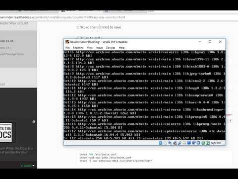 zoneminder installation on ubuntu server