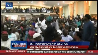 Ekiti Gov'ship Poll:  Stakeholders Meeting End In A Rowdy Manner |Politics Today|