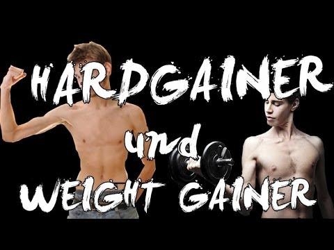 Weight Gainer und Hardgainer - YouTube