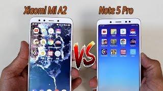 Xiaomi Mi A2 Vs Xiaomi Redmi Note 5 Pro Comparision !! Speed Test Comparision, HINDI