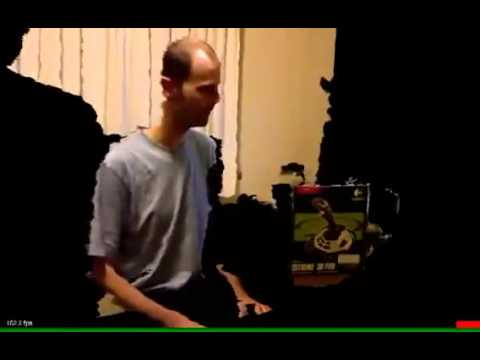Kinect Augmented Reality hack with Doom 3 character