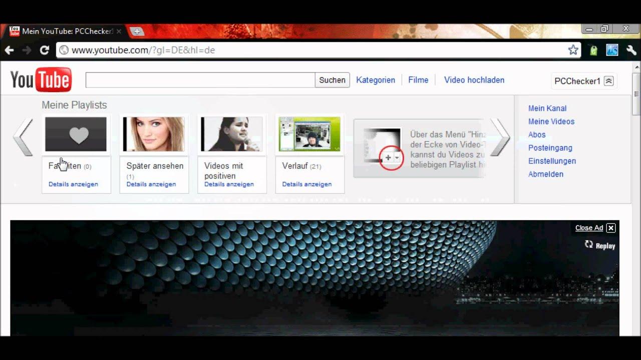 Youtube Profilbild ändern
