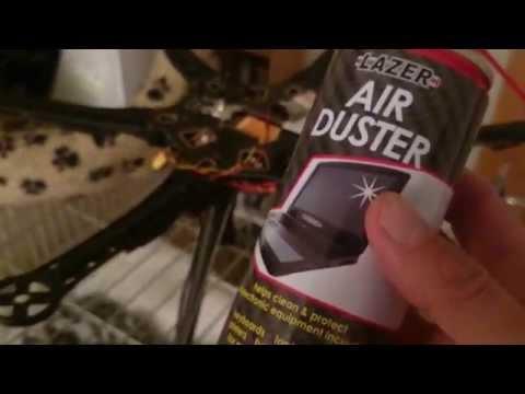 Cleaning gimbal motors etc