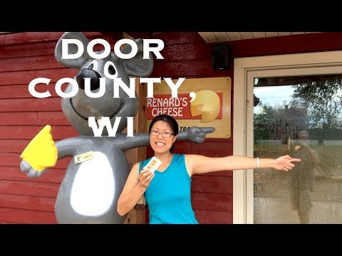 DOOR COUNTY WISCONSIN TRAVEL GUIDE - Cheese, Cherries + More