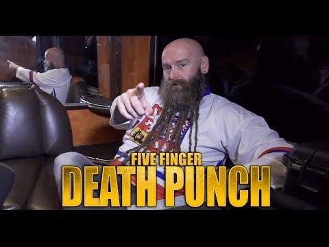 FIVE FINGER DEATH PUNCH - Interview Prague 2017