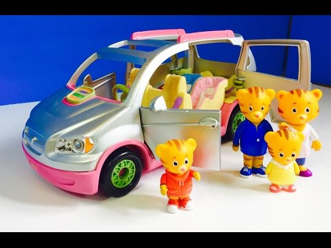 MAGIC GROWING TREE and Fisher Price MUSICAL SUV with DANIEL TIGER Toys!