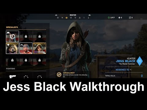 Far Cry 5 Jess Black Companion Walkthrough