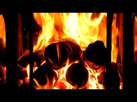 2 HOURS RELAXATION Fireplace with whistling wind