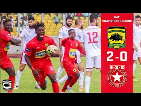 ASANTE KOTOKO 2-0 ETOILE DU SAHEL : All Goals & Highlights