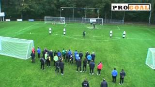 PRO GOAL Keeperstraining Oefening 3