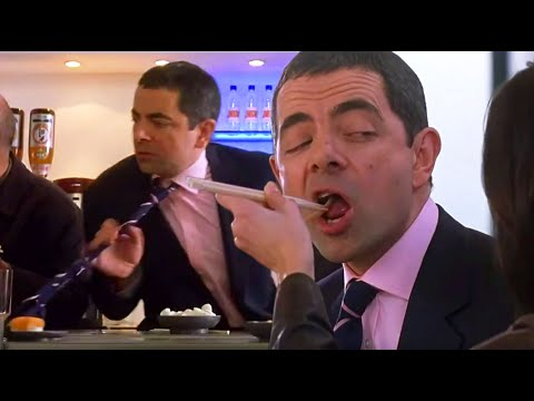 Sushi Drama | Johnny English | Funny Clips | Mr Bean Official | Mr Bean