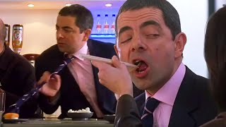 Download Mr Bean Comedy - Sushi Drama | Johnny English | Funny Clip | Mr Bean