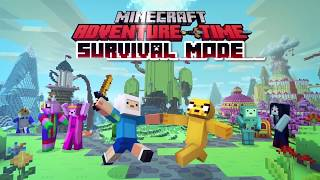 CN Playin | Adventure Time Minecraft: Survival Mode with Kayden! | Cartoon Network