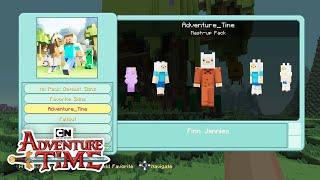 CN Playin | Adventure Time Minecraft: Survival Mode with Kayden! | Cartoon Network