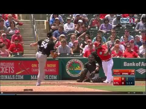 Yadier Molina Home Run: 3/26/17