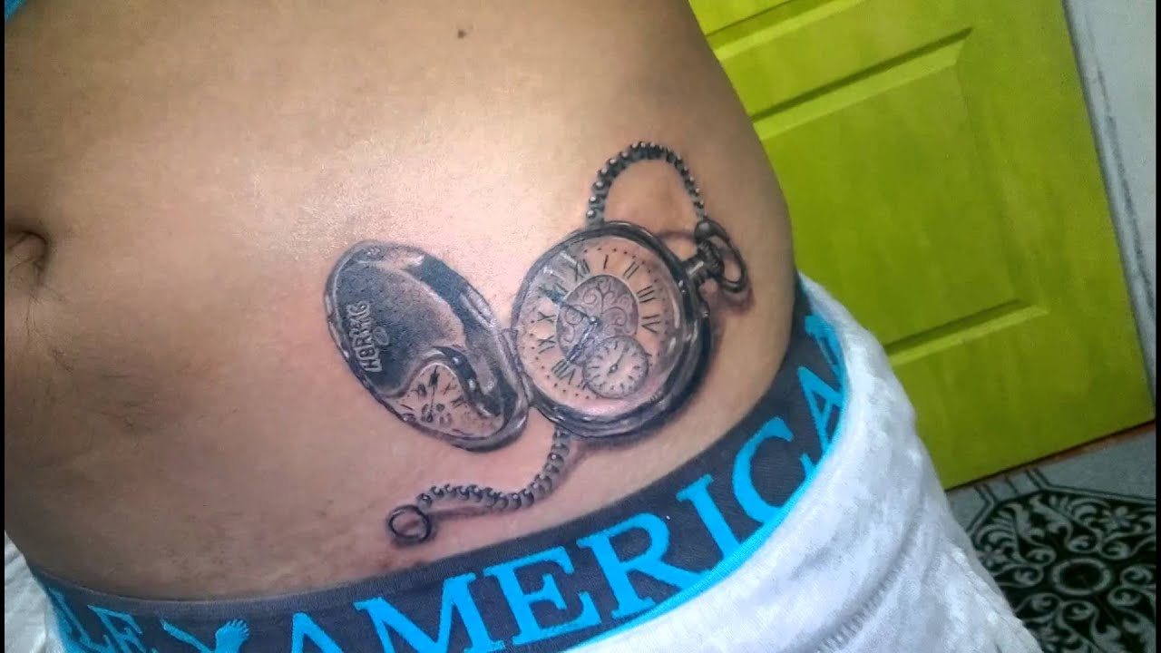 Peposk Tattoo Reloj De Bolsillo Youtube