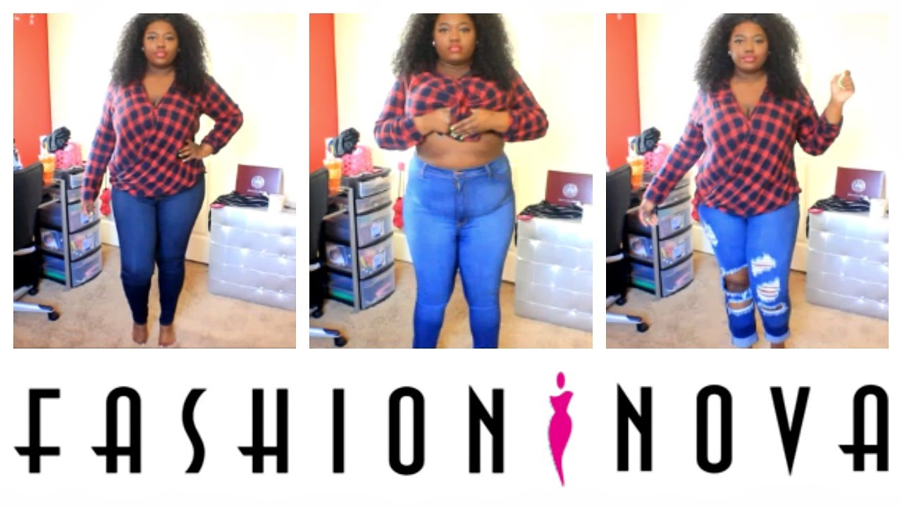 good selling exclusive range shop for luxury New PLUS SIZE Jeans 2XL | Fashion Nova Try On Haul (Apple Shape Belly)