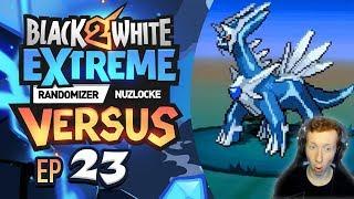 EARTHQUAKE!? - Pokémon Black/White 2 EXTREME Randomizer Nuzlocke Versus w/Supra! Pt 23