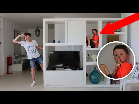 HIDE AND SEEK WITH LITTLE BROTHER! In LUXURY HOLIDAY Mansion
