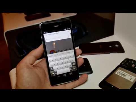Acer Liquid E600 im Hands On [4K Deutsch]