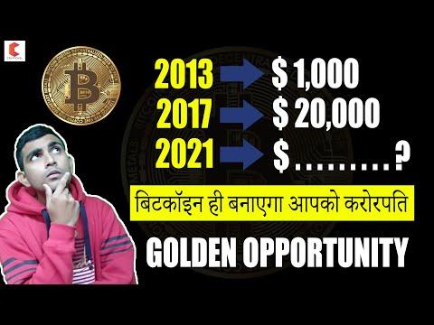 BITCOIN PRICE PREDICTION 2020, GOLDEN OPPORTUNITY, बिटकॉइन बनाएगा आपको करोड़पति - CRYPTOVEL