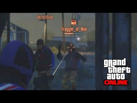 DOMINATING OTHER TEAM w/ 5.8 KD [GTA 5 Online Dawn Raid] #2
