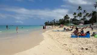 Lanikai Beach Kailua Oahu Hawaii (March 2013)
