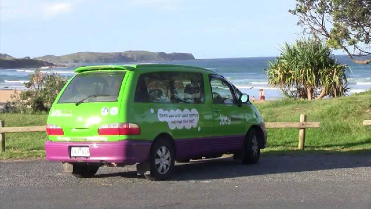 jucy crib campervan tour (mtv cribs style) jucy lucy australia and