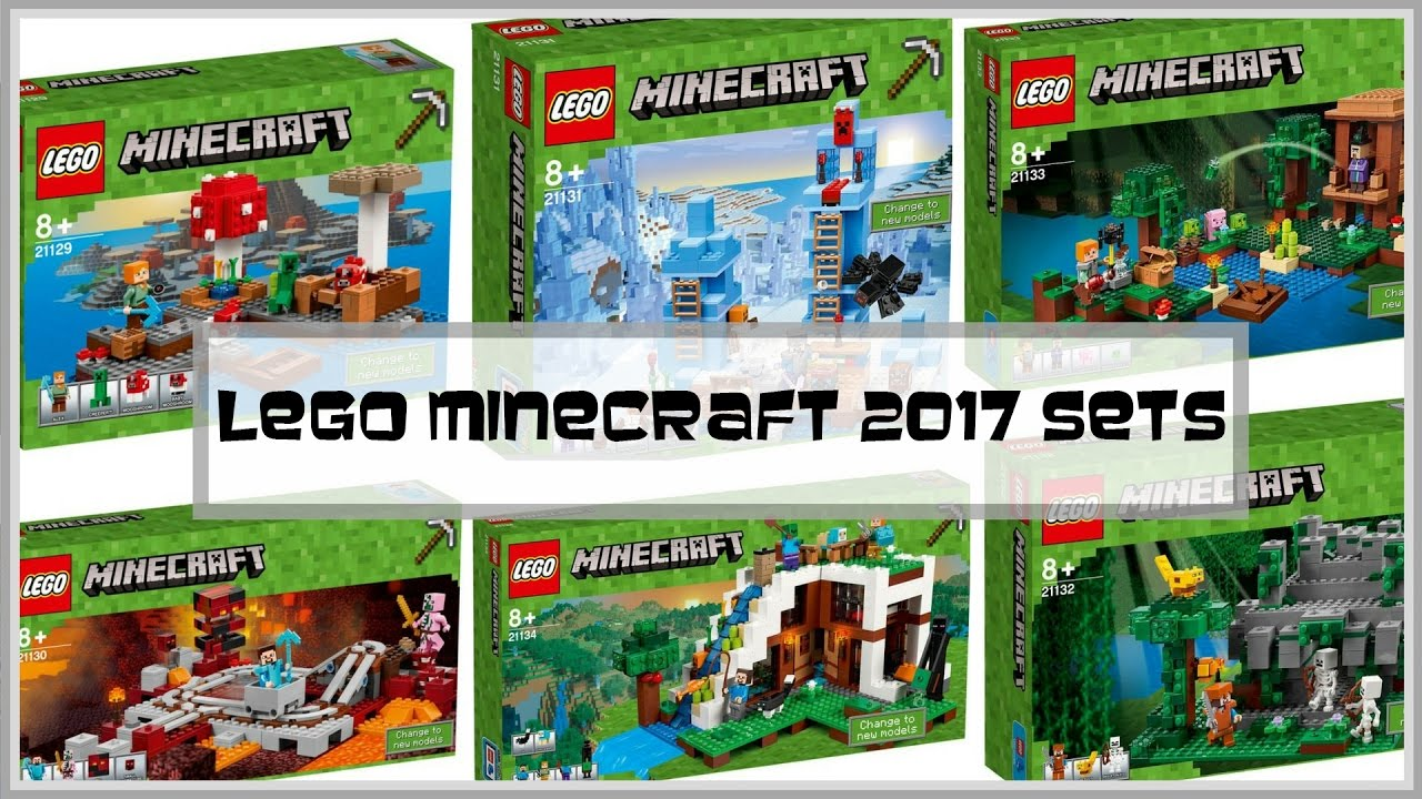 lego minecraft 2017 sets review i share whats new for lego minecraft 2017 youtube - Biggest House In The World 2017 Minecraft