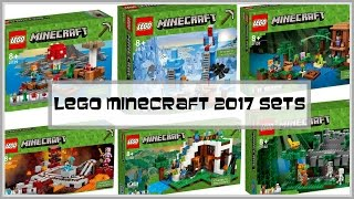 LEGO Minecraft 2017 Sets Review - I share what's new for LEGO Minecraft 2017