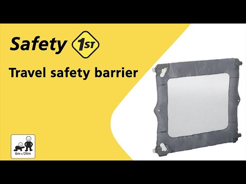 Safety 1st Travel Safety Barrier instructions video