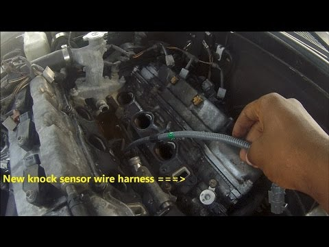 hqdefault lexus es300 knock sensor location & replacement the wiring Knock Sensor Wiring Harness at bayanpartner.co