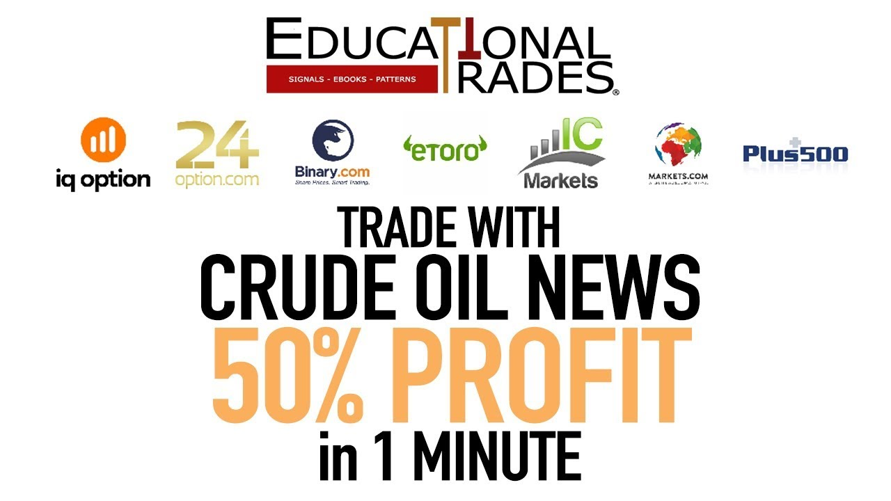 Libra - Easy Crude Oil Strategy - Crude Oil Inventories News - IQ Option, IC Markets...