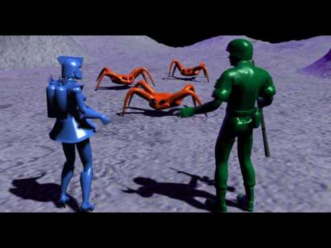 Army Men Toys In Space Act 2 Cut Scene Youtube