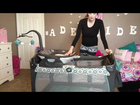 UNBOXING: Graco Pac 'N Play with the reversible changer/napper