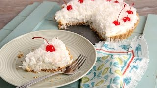 No-Bake Pina Colada Cheesecake Tart - Laura Vitale - Laura in the Kitchen Episode 1074
