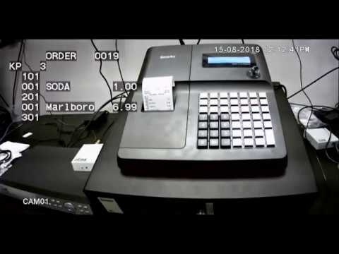 Connected iLinkPro iTIVO HD Text Inserter Overlay to Samsung SAM4S 2000  Series POS Cash Register