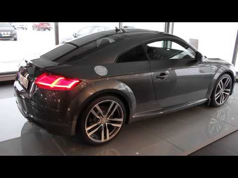 2015 audi tt coup s line 230hp daytona grey walkaround youtube. Black Bedroom Furniture Sets. Home Design Ideas