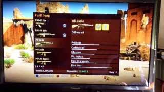 Glitch Uncharted 3 copie d'arme et de skins