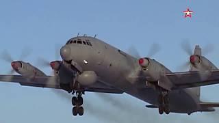 Полеты противолодочных Ил-38 над Баренцевым морем